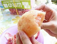 桃の食べ方